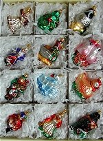 Complete Set of the 12 Days of Christmas Ornament
